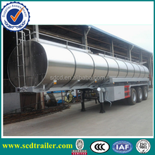 2015 China manufacturer 3 axles used oil tankers for sale