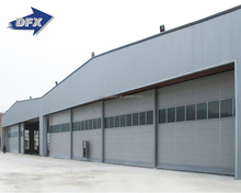Modern design prefabricated light steel construction steel structure hangar