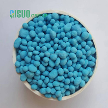 granule npk fertilizer 12-12-17+2mgo bule color sop base no chloride