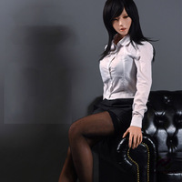 JND11-163cm Skeleton inside ultra light doll plastic women sex doll with 8kg