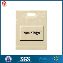 Customized machine made shopping plastic bags