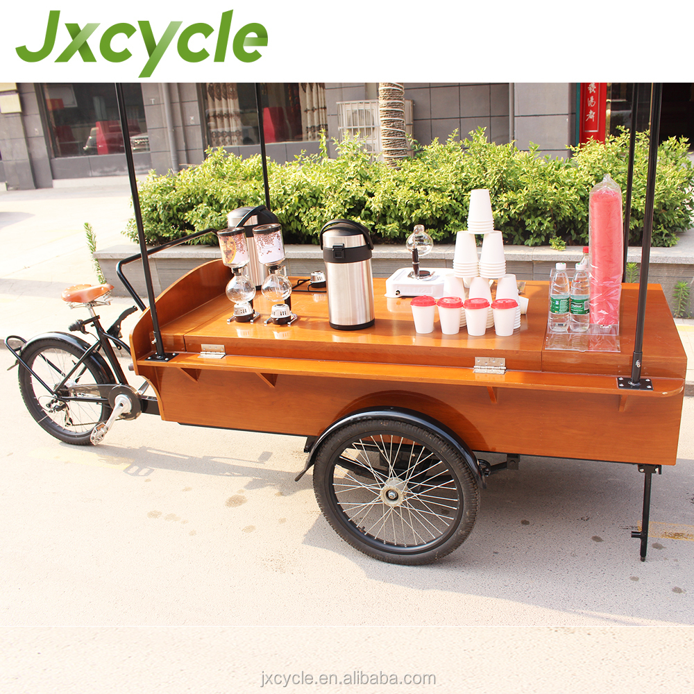 electric delivery coffee tricycle on sale