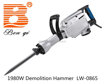 LW-0865 electric demolition hammer breaker
