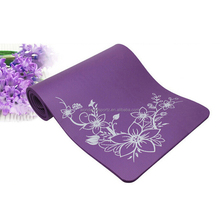 2015 new style embroider kids yoga mat/high resistance yoga mats with nice printed pattern