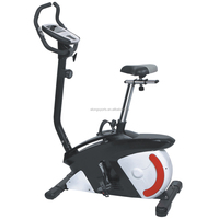 Pro Exercise Bike Home Gym Comfortable Indoor Bicycle Trainer Upright Bike MB720 with Computer 8 adjustable magnetic resistance