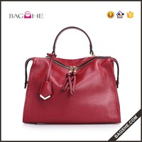 China Manufacturer genuine leather handbag wholesale