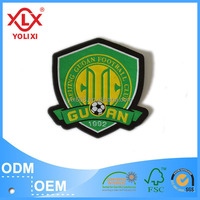 Custom made football club woven patches