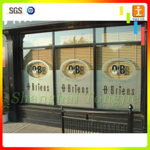 Printed Window Sticker decal for advertising and promotion