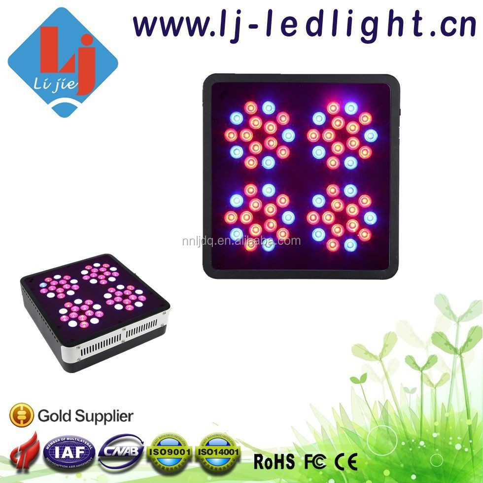 2015 Promotion Apollo 4 180W Full Spectrum 8 Band LED Grow Light for Indoor Plants,Greenhouse Hydroponic Systems