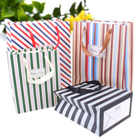 white cardboard material cheap wedding craft paper bag