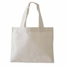 blank heavy cotton canvas promotion tote cheap bag