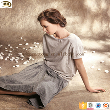 High quality PD plain woven linen fabric