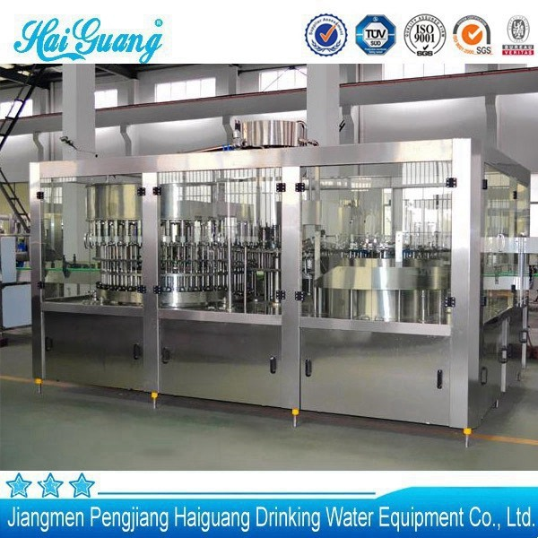 Consumer Goods Processing Plants : Chinese good service monoblock mineral water plant for