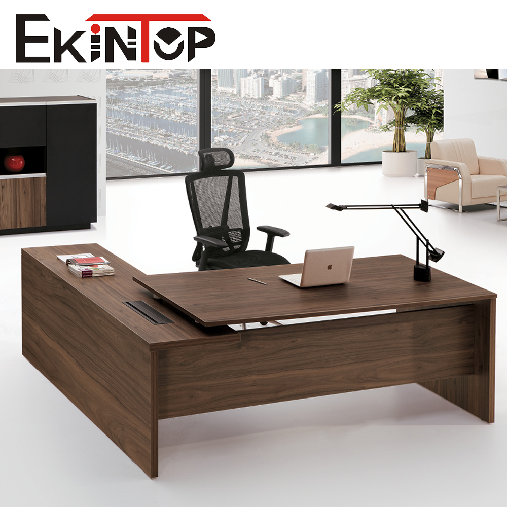 2016 popular luxury custom made modern design office executive desk manager table