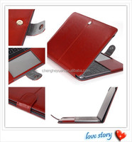 new products pu leather laptop bag filp case for macbook pro 13 15 retina