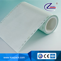 medical autoclave sterilization flat pouches roll