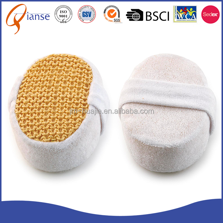 Hot sale custom natural sponge soft egyptian disposable bath animal baby loofah sponge for shower