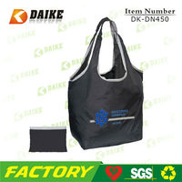 Eco Reusable Promotional Custom High Quality folden shopping bag DK-DN450