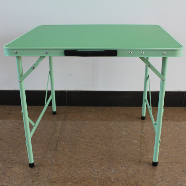 1 Section (70cm) Aluminum green folding picnic table
