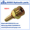 10311-10 O-Ring Metric Male Flat Seal Swaged Hose Fitting