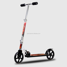 hot sale adult freestyle kick folding scooter with 2 PU wheels