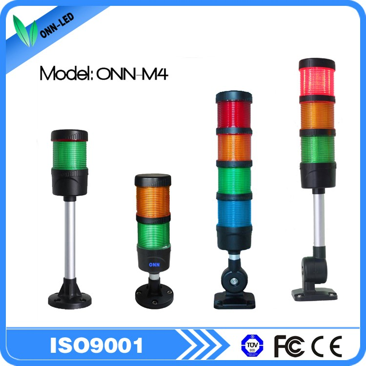 ONN-M4 IP66 Led Signal Tower Light / Equipment Indicator Light / Machine Warning Light