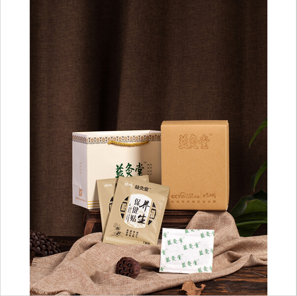 OEM heat warmer wrap with Chinese herbs improve immunity moxibustion spa pad menstrual relief patches