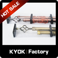KYOK Adjustable curtain rod set, shower curtain rod price,retractable curtain rod
