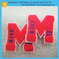 Letter Designs Embroidery Iron on Patch