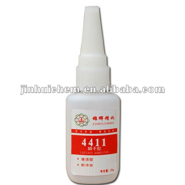 High quality low price411 Clear Instant Cyanoacrylate Adhesive 411 20g super glue