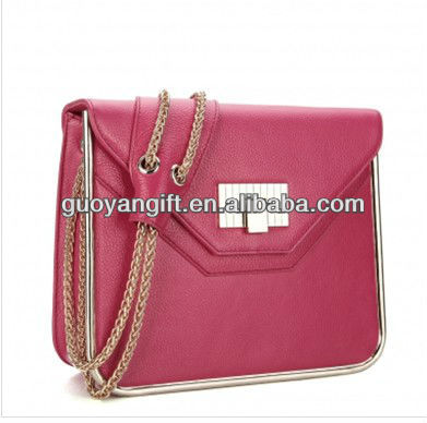 Inspired Leather handbag Red