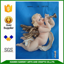 Wholesale Religious craft polyresin baby angel crafts