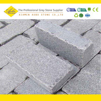 White Tumbled granite paving stone,granite walkway