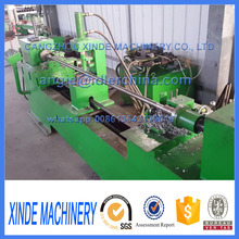 CNC circlip groove processing machine for making conveyor roller