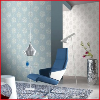 Natural Fashionable Floral Design PVC Wallpaper