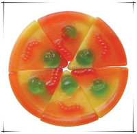halal fruity jelly gummy pizza candy gummy fruity jelly belly FACTORY hot sell