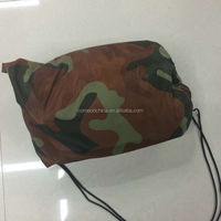 Fast Inflatable Camping Hiking Camouflage Air Laybag Camouflage Military Sleeping Bag