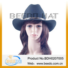 black men wool cowboy hats 100% australian cowboy hat