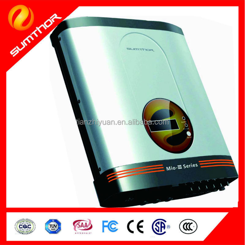 Smart three phase grid-tie Solar photovoltaic variable frequency inverter 15KW-20KW Mio-III 20KW TL