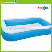 giant inflatable square adult swimming deep pool toys rental