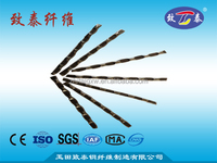 Crimped steel fiber for tunnel shotcrete