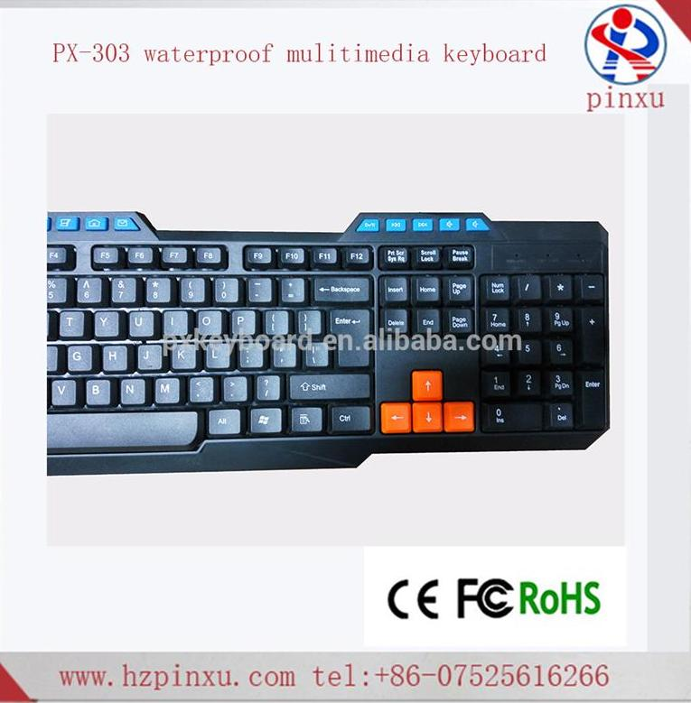 best multimedia mechanical gaming wired keyboard with high quality