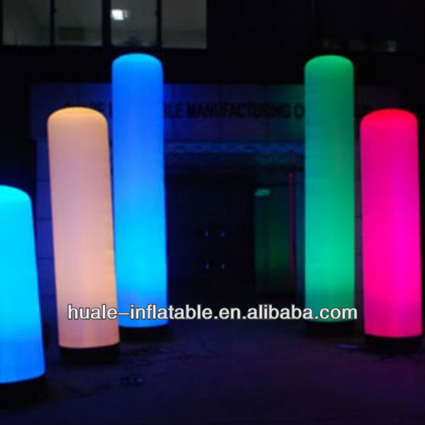 2013 hot-selling Party Club inflatable led lighting pillar