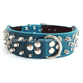 2inch width spiked collars for pet dogs