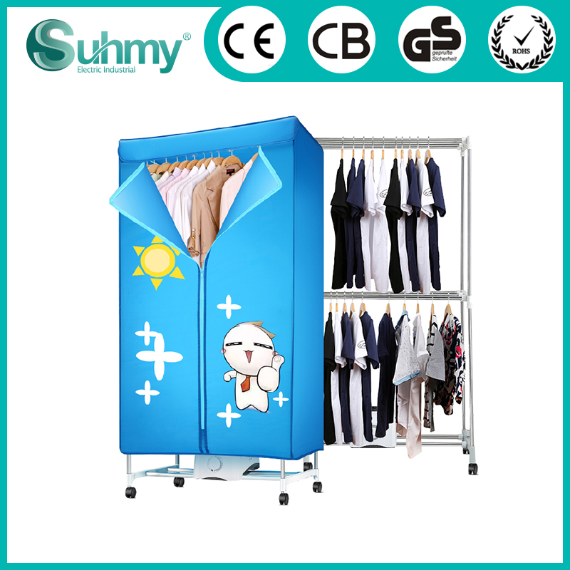 Electric Air Dryer Machine Portable Clothes Dryer With Timer Setting