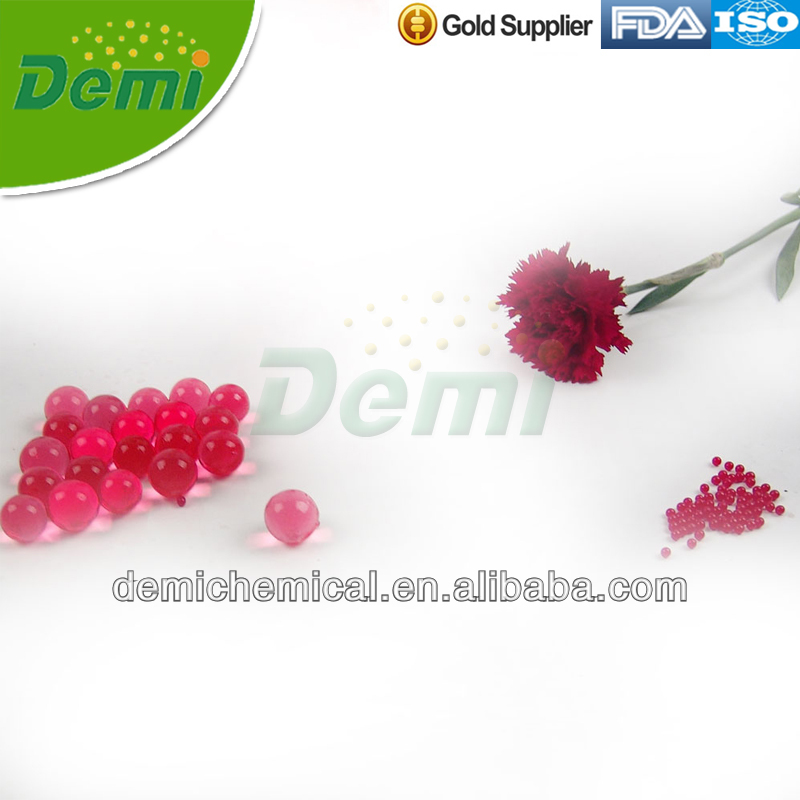 Hot red color water retaining beads for Christmas decoration