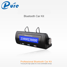 good sound car kit sun visor bluetooth handsfree car kit with echo cancellation&noise suppression