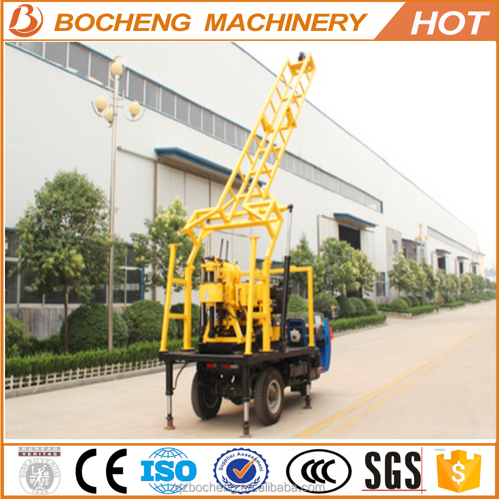 geological soil testing drilling rig