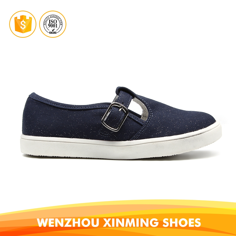 Factory outlets Side buckle shoes pedal fashion kids casual shoes for girls
