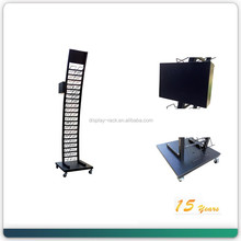 Free Standing Design Know Down Metal Granite sample Display Rack
